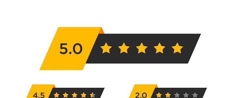 review star rating symbol