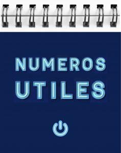 Image carnet de numéros de téléphones et d'adresses internet utiles pour vous aider dans votre recherche - Exemple : SAMU SOS femmes battues, …